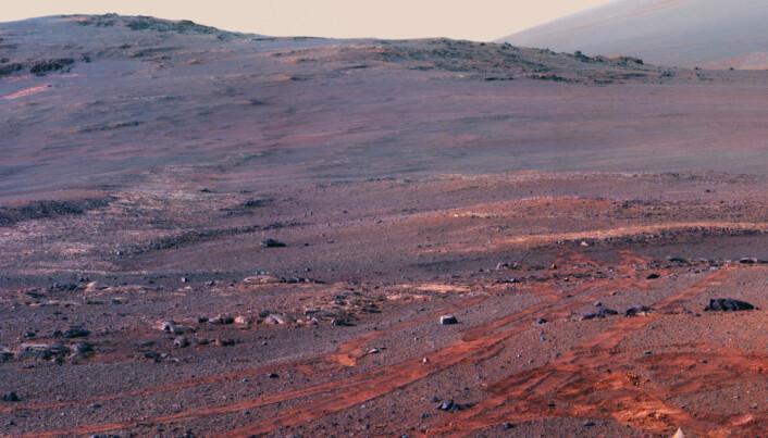 Mars: Se Opportunitys siste bilder