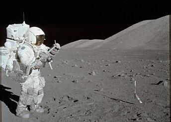 Støv og stein fra månen skal forskes på etter nesten 50 år