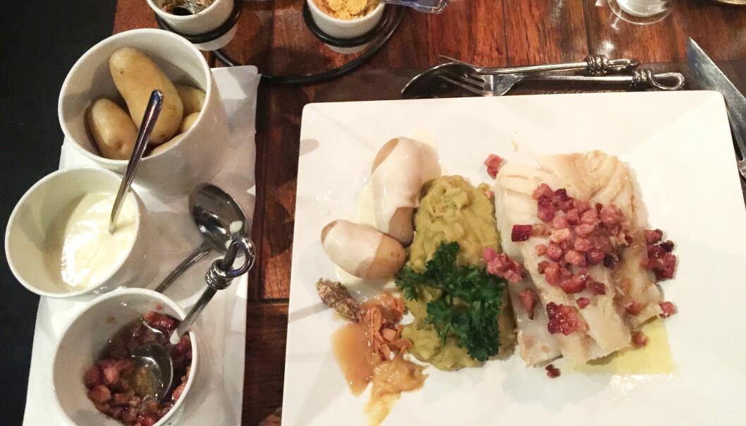 Det finnes oppskrifter på lutefisk som går helt tilbake til 1500-tallet. Mange mener at lutefisken var den opprinnelige norske julematen. (Foto: Guri Haram)
