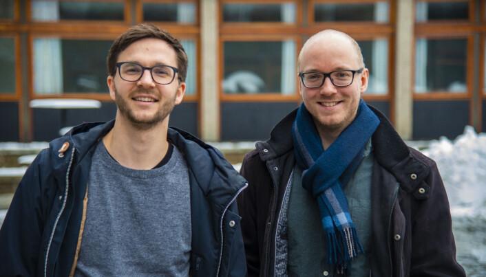 Peter Egge Langsæther, Haakon Gjerløw og Martin G. Søyland (ikke på bildet) har gransket velgeradferd og funnet ut at de fleste av oss gjør mer kvalifiserte valg enn mange tror. (Foto: Tron Trondal, UiO)
