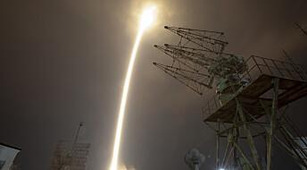 Sojus-raketten har ankommet ISS