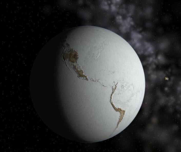 I løpet av jordens første «måned» var det mange asteroider i verdensrommet som traff jorden med jevne mellomrom. (Foto: (Illustrasjonsbilde: Neethis/Wikimedia commons))