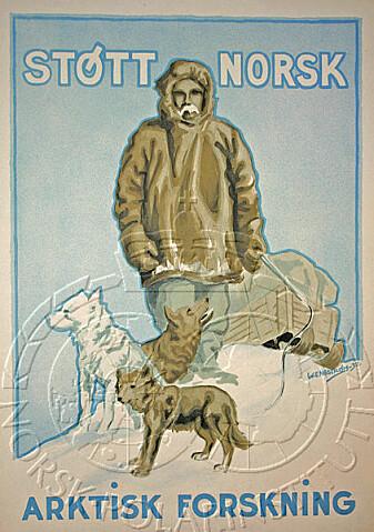 (Litogafi fra 1930-tallet: Norsk Polarinstitutt)