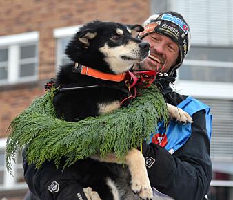 Hundekjører Thomas Wærner var først i mål på Finnmarksløpet 2019. Nå har forskere skrevet bok om hva som gjør hundekjørere så spesielle. (Foto: Marius Mork Broks)