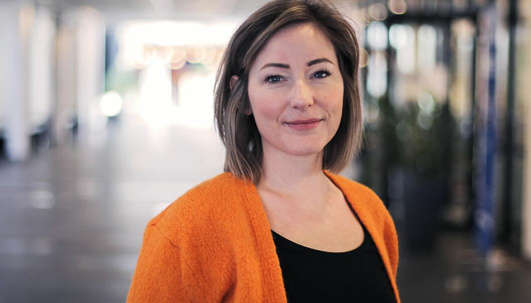 Thina Maria Benum Mohus er motivert for en forskerkarriere. (Foto: Svein-Arnt Eriksen)