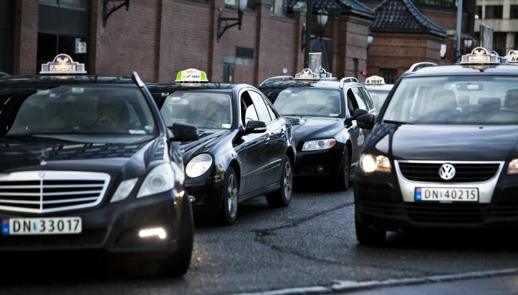 VG har no fått eit oversyn over dei samla utgiftene til bruk av taxikort frå og med 2015 til og med 2018. (Foto: Aleksander Andersen, NTB Scanpix)