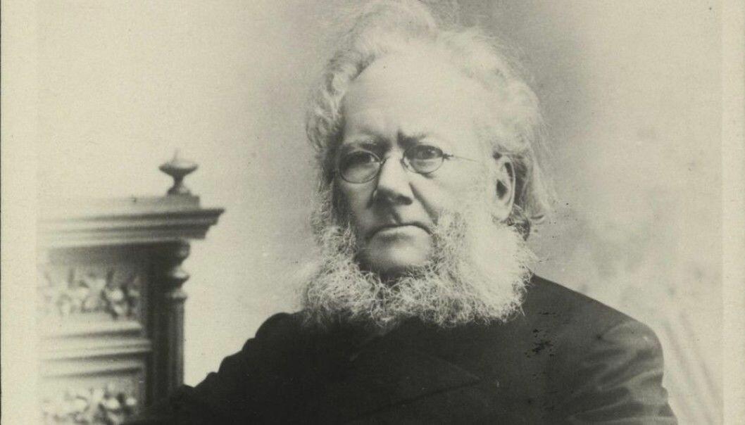 Forfatteren Henrik Ibsen visste hvordan han skulle markedsføre seg selv, mener forskere. (Foto: Julius Cornelius Schaarwächter/Nasjonalbibliotektet)