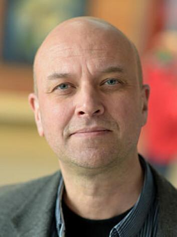 Dekan Anders Johan W. Andersen ved Fakultet for helse- og idrettsvitenskap