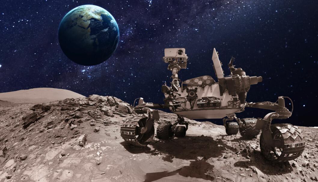 Utstyret skal på plass om bord på Nasas Mars 2020-rover.  (Illustrasjon: Shutterstock / NTB scanpix)