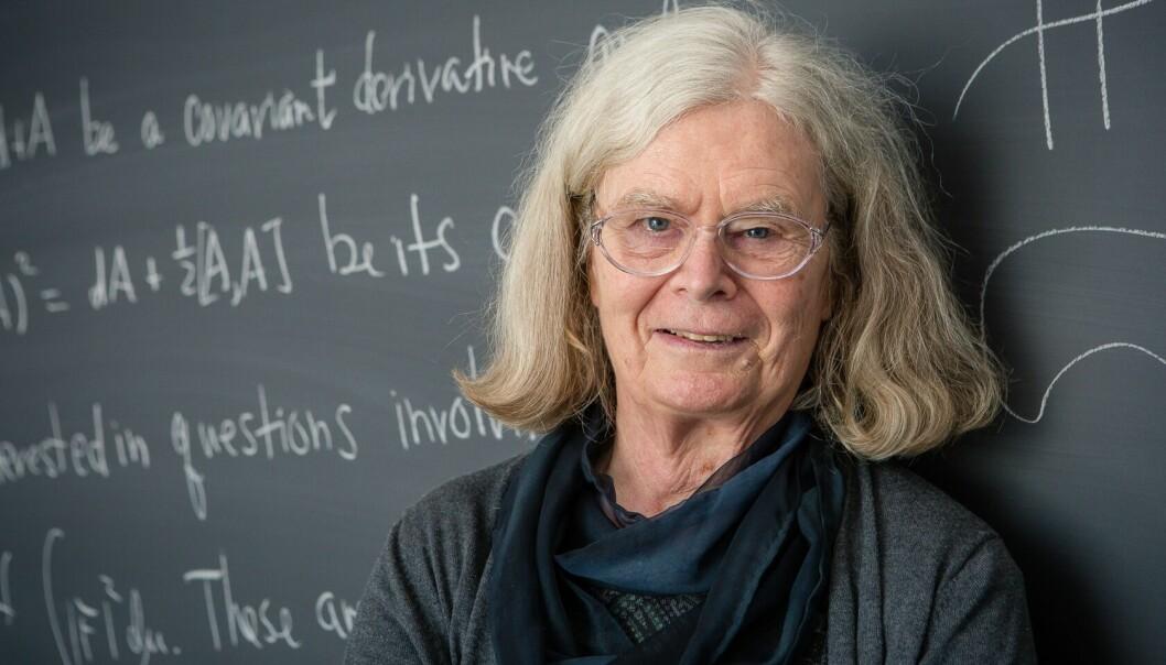 – Jeg ville enten bli skogvokter eller drive med en eller annen slags vitenskap, sier Karen Uhlenbeck om sin egen barndom. Hun ble en av verdens fremste matematikere. (Foto: Andrea Kane/ Institute for Advanced Study)