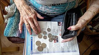 Nordmenn er bekymret for å få dårlig råd i alderdommen
