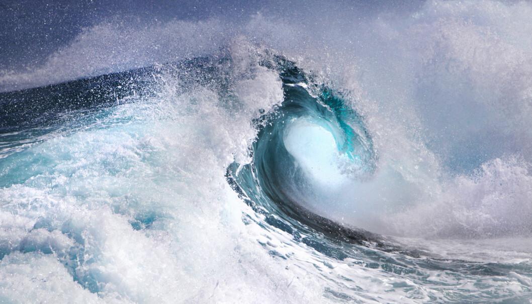 Den nye offisielle verdensrekorden for bølgehøyde er fra havet vest for Hebridene, utenfor Skottland.  (Foto: irabel8 / Shutterstock / NTB scanpix)