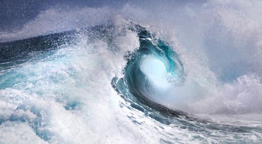 Rekordhøye bølger målt utenfor Skottland