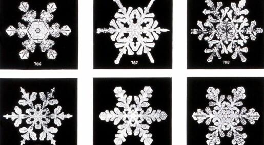 Forskeren forteller: Hvorfor er alle snøkrystaller sekskantete?