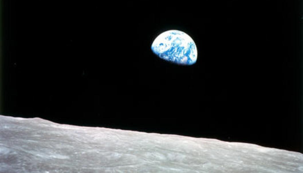 undefined (Foto: Apollo 8-mannskapet / NASA)