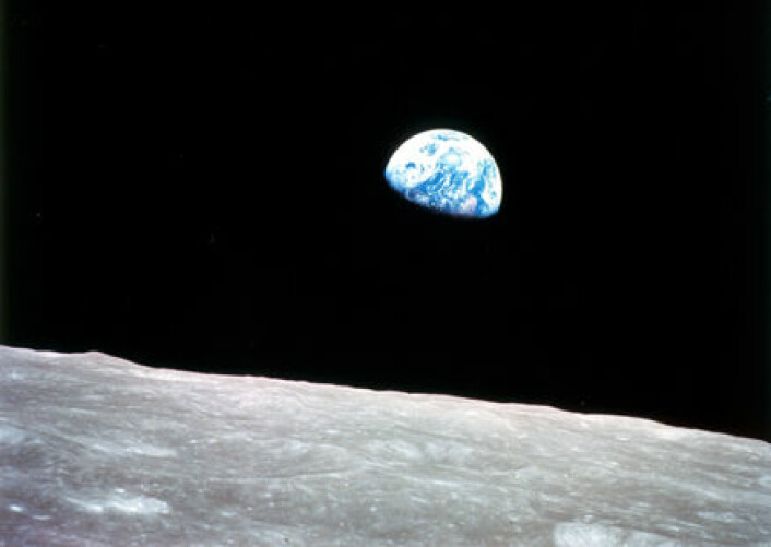 (Foto: Apollo 8-mannskapet / NASA)