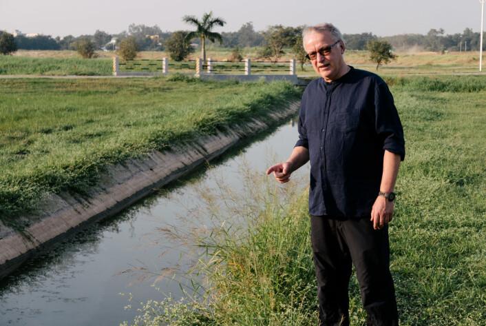 Forvaltning av vannressurser er utfordrende, mener Johannes Deelstra. (Foto: Nibio)