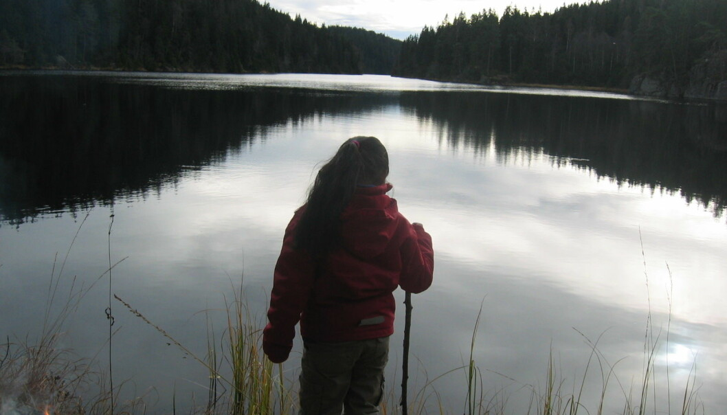 22. mars er verdens vanndag. Hvordan står det egentlig til med innsjøene i Norge? (Foto: Gunnhild Riise)
