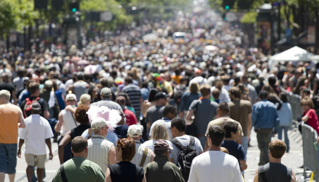 En befolkning langt høyere enn den vi har i dag, kan godt sette et mindre økologisk avtrykk. Alt avhenger av hvordan vi oppfører oss, skriver Erik Tunstad. Han tror ikke løsningen på fremtidens problemer er en befolkningsnedgang. (Illustrasjonsfoto: Rafael Ramirez Lee / Shutterstock / NTB scanpix)