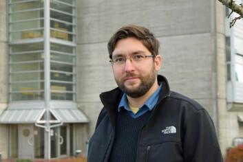 Professor Krisztian Balog er glad for at Universitetet i Stavanger nå tilbyr masterprogrammet, Webprogrammering, websøk og data mining. (Foto: Lars Gunnar Dahle/ UiS)