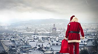 Julenissen skiller ikke mellom snill og slem