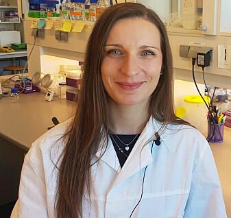 Katarzyna Kuczkowska er postdoktor ved NMBU. (Foto: Kristine Løwe / NMBU)