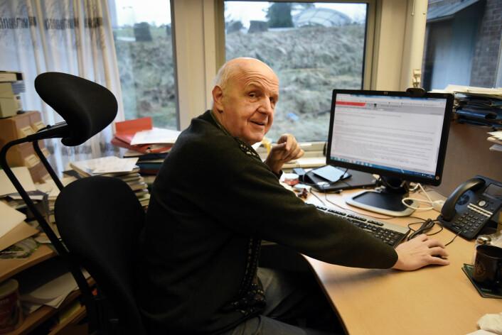 Professor Reinhard Siegmund-Schultze ved Universitetet i Agder. (Foto: Jan Arve olsen/ Universitetet i Agder)