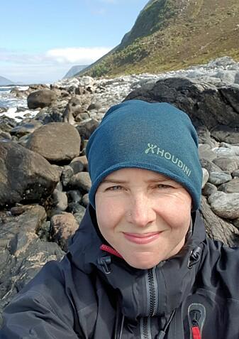 Guri Sogn Andersen ble grepet av plastproblemet som student på Svalbard. Nå har marinbiologen skrevet bok om plast i havet. (Foto: privat)