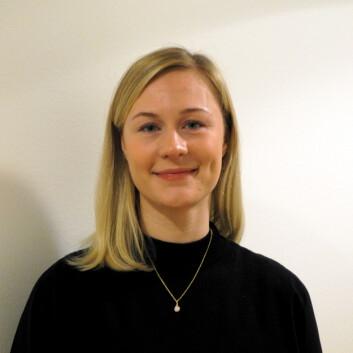 Anna Dahl Myrvang, doktorgradsstudent på Institutt for psykologi ved UiT Norges arktiske universitet. (Foto: Johanne Røe Mathisen)