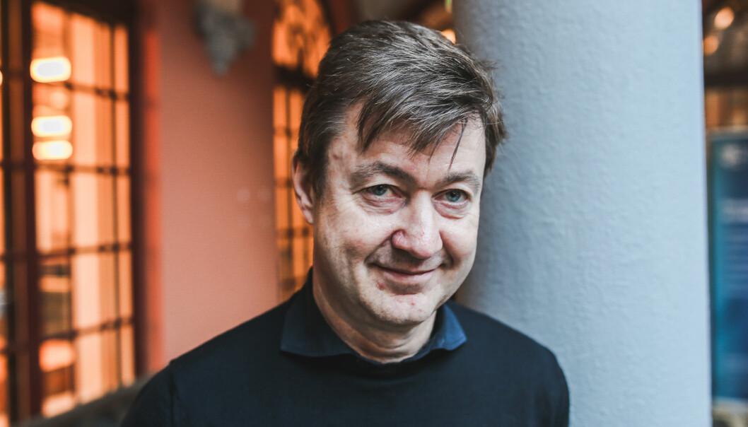 Augun Farbrot slutter på BI. (Foto: Philip A. Johannesborg, Høyskolen Kristiania)