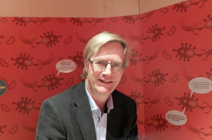 Mer læring, mindre «hit and run», håper avdelingsleder Jan Alfred Andersson ved Vitensenteret. (Foto: Eivind Torgersen)
