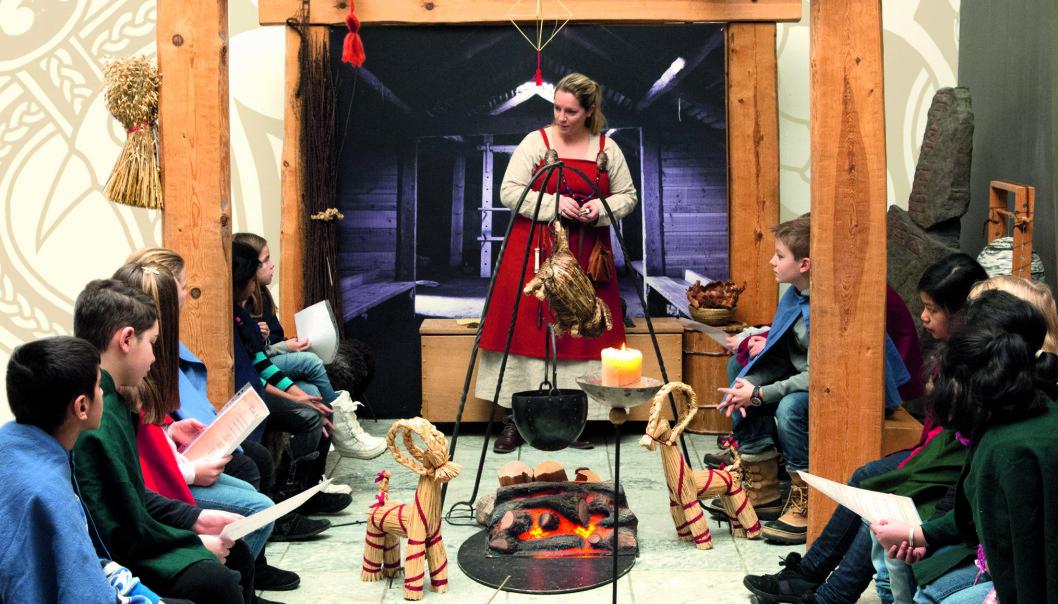 Vi har mange og lange juletradisjoner i Norge, men kjenner du til hvordan de oppsto? (Foto: Universitetet i Stavanger)