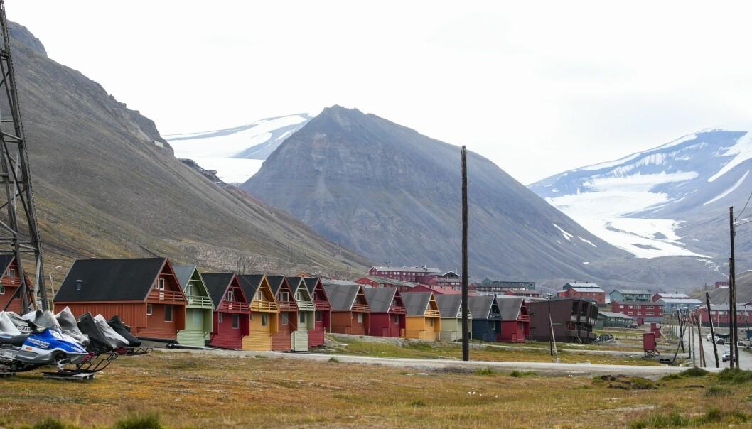 Longyearbyen på Svalbard. Bildet er tatt i august i fjor. (Foto: Lise Åserud, NTB scanpix)