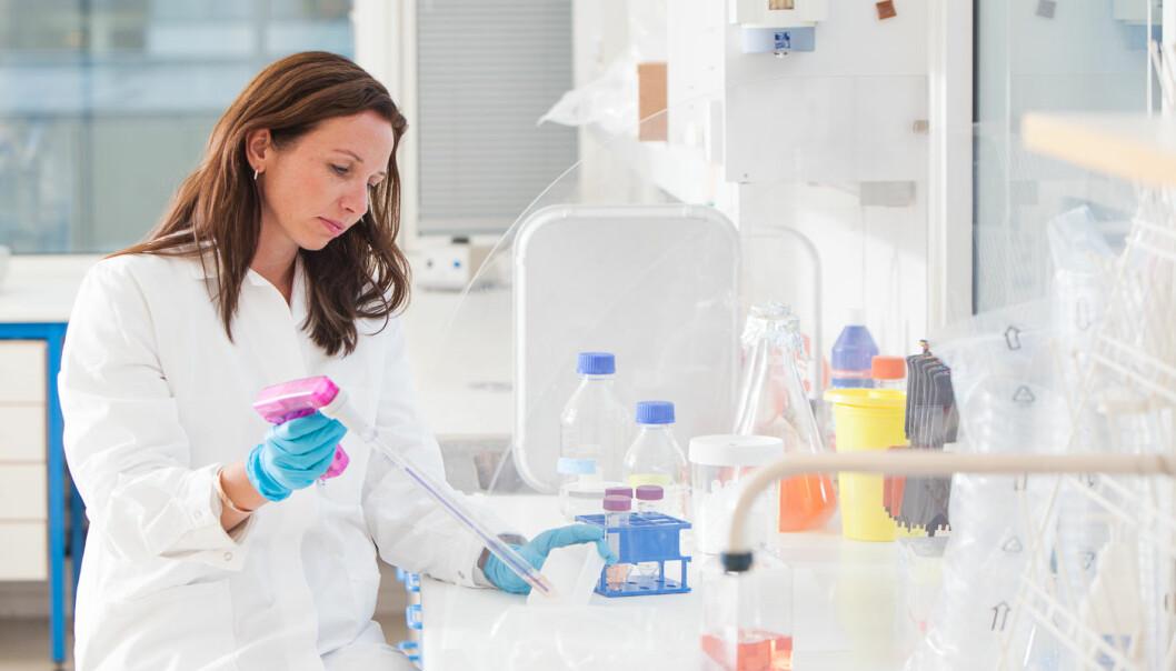Agnete Fredriksen etablerte firmaet Vaccibody sammen med sine veiledere i 2007. Nå tester firmaet ut kreftvaksiner klinisk på pasienter i Tyskland. (Foto: Ingvar Næss/Vaccibody)