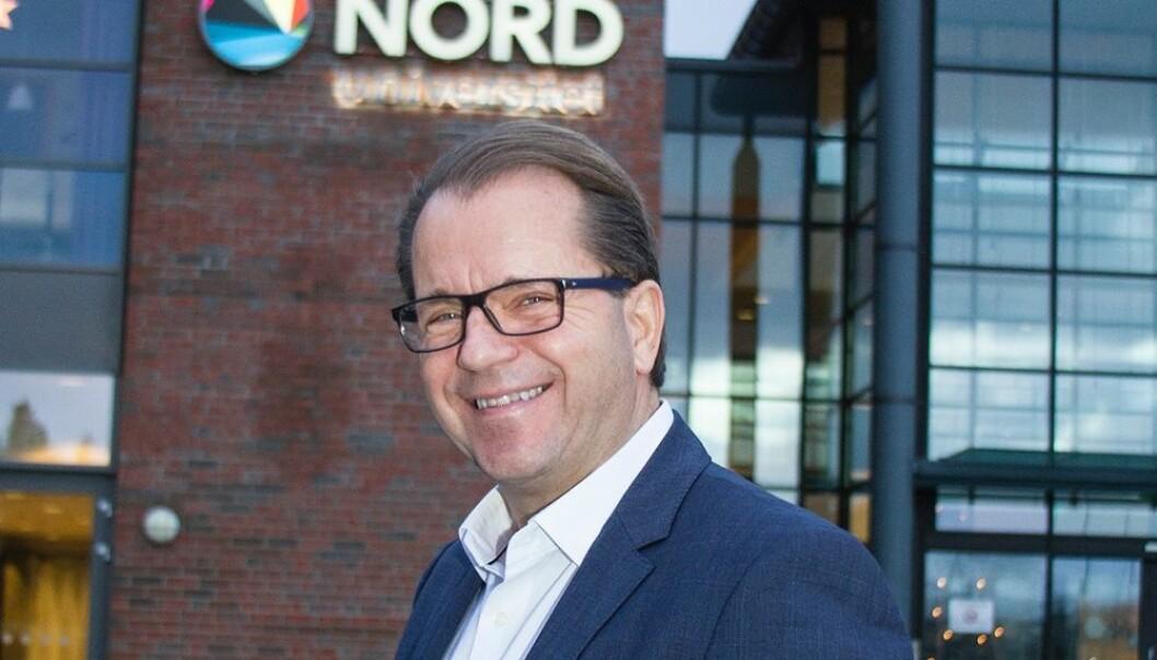 Rektor Bjørn Olsen ved Nord universitet er ikke overrasket over at NOKUT mener universitetet hans har store utfordringer.  (Foto: Nord universitet)