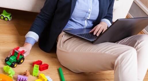 Ledere forskjellsbehandler mor og far i småbarnsfasen