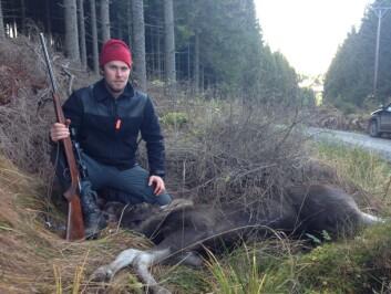 Didrik Gjestvang tror sikt og jaktkvoter begrenser jegerne mest (Foto: Privat).