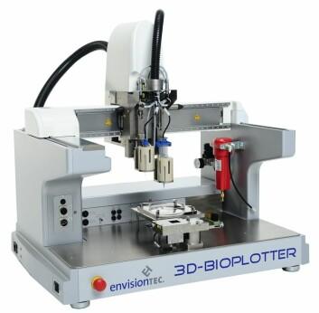 Slik ser en 3D-printer for medisinsk bruk ut. (Foto: Envisiontec)