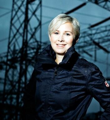 Sofie Nystrøm i CCIS synes britenes prosjekt er spennende, og tror et lignende tilbud i Norge kunne vært nyttig. (Foto: Oda Hveem)