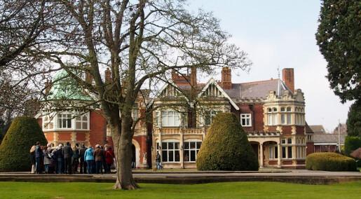 Nye kodetalenter inntar historiske Bletchley Park