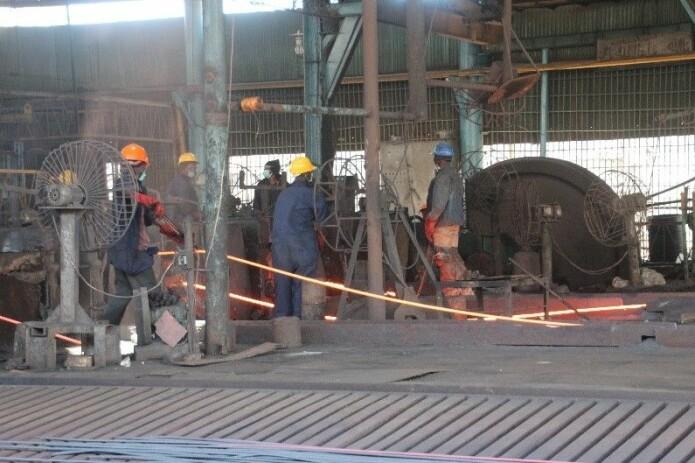 På stålverkene i Tanzania var det svært få som visste at hørselskader var permanente. (Foto: privat)