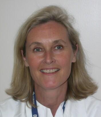 Hudlege og forsker Anne Lise Ording Helgesen. (Foto: Oslo Vulvaklinikk)