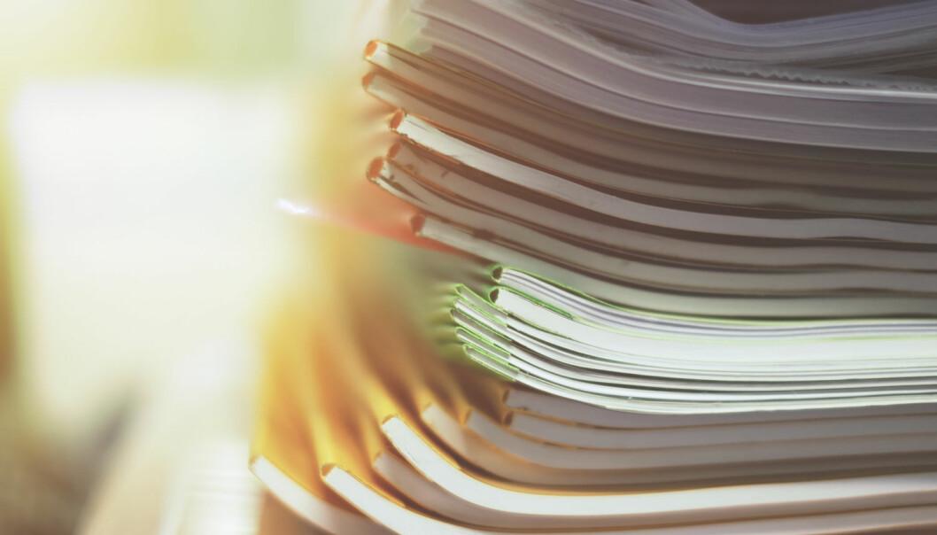 Tidsskriftet Journal of Clinical Research and Bioethics mistenkes for å være et såkalt rovtidsskrift, som publiserer dårlige eller falske forskningsartikler mot betaling  (Illustrasjonsfoto: pangchai/Shutterstock/NTB scanpix).