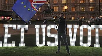 Ekspert tror brexit uten avtale er kommet nærmere