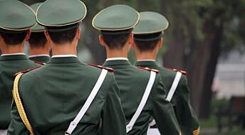 Unge kinesere støtter en mer aggressiv utenrikspolitikk