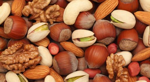De som spiser nøtter lever lenger