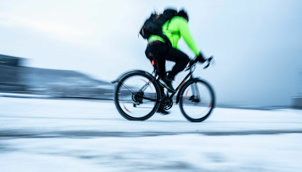 Tonnevis med salt smelter snø fra veiene. Forskere tester alternative midler som kan fjerne is uten å skade vegetasjonen og miljøet nær veiene. (Foto: NTB Scanpix)