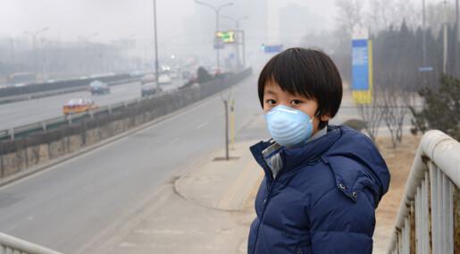 Vi kan forhindre 5,5 millioner dødsfall i året hvis vi slutter å forurense luften