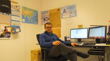 Witold Pawlus disputerte nylig på en avhandling innen mekatronikk. Doktorgradskandidaten jobber nå som teknisk leder av Norwegian Motion-Laboratory på UiA. (Foto: Universitetet i Agder)