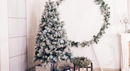 Forskere advarer mot kunstig juletre